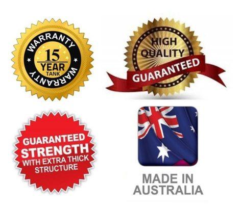 15 Year Australian Tank Warranty
