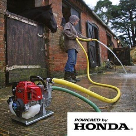 Honda fire pumping