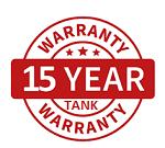 15 Year Tank Warranty Bushfire Store