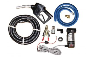 12v diesel tank pump and hosekit